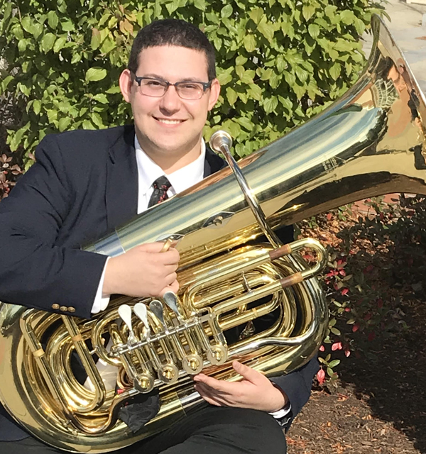 Nicholaus Smith || Brass & Percussion Teaching Artist at Proctors