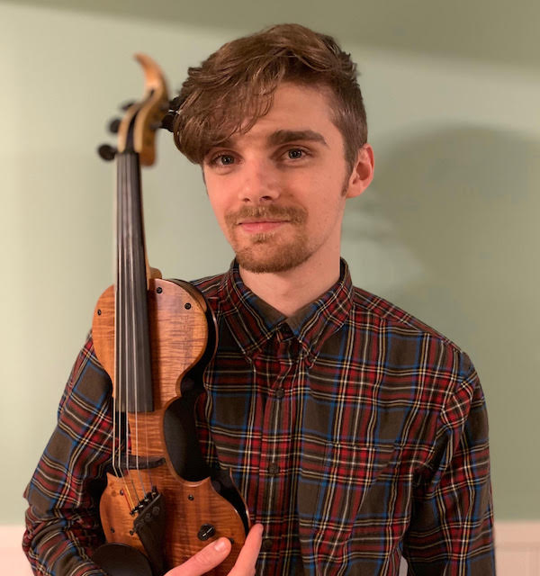 Connor Armbruster || String Teaching Artist in Troy